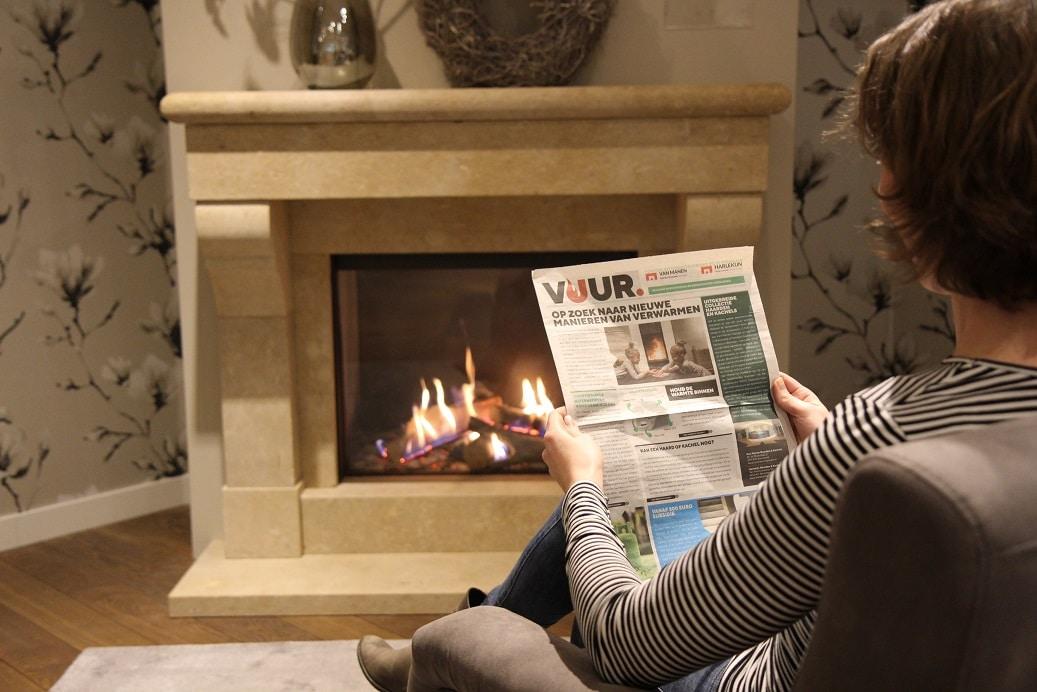 VUUR-krant over verantwoord verwarmen