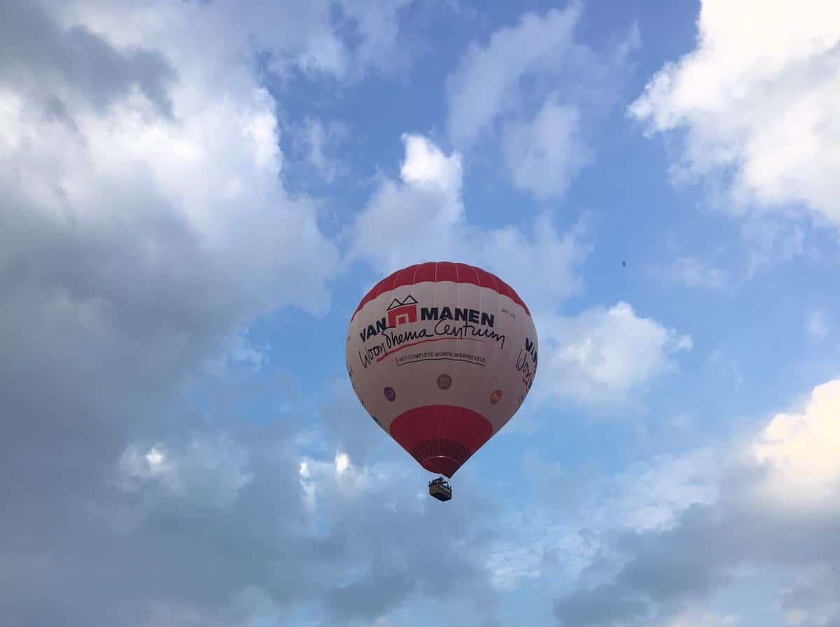 Voorwaarden ballonactie Van Manen WTC 2019