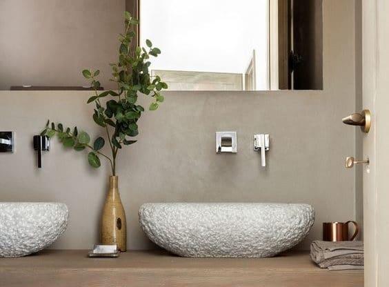 De natuurlijke badkamers