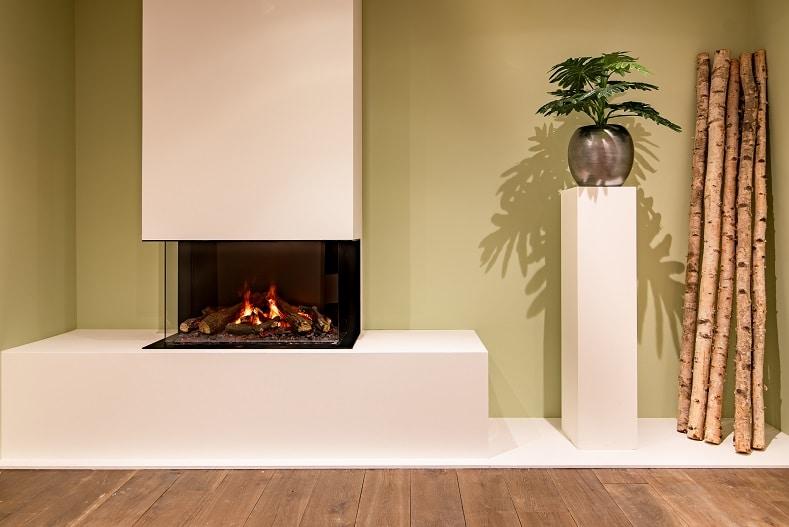 Energiezuinige elektrische kachel voor ieder interieur
