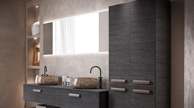 Inspiratie voor een moderne badkamer