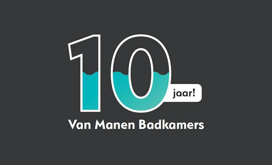 Van Manen Badkamers 10 jaar!