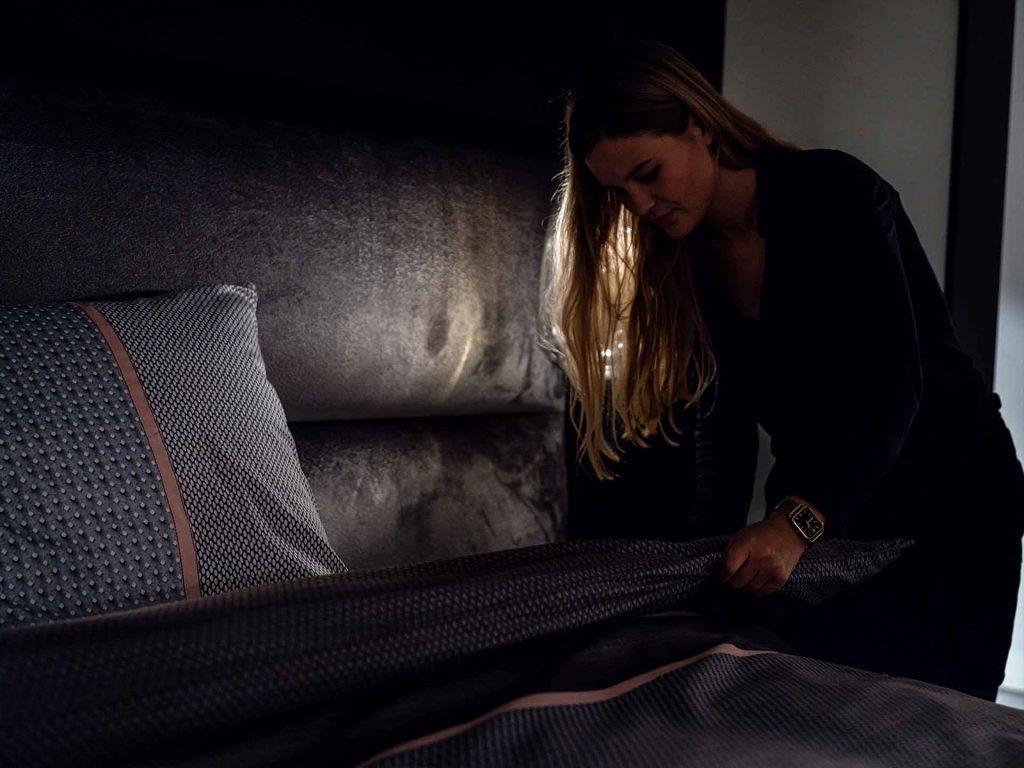 Slaap als in een hotel met een luxe bed van Serta.